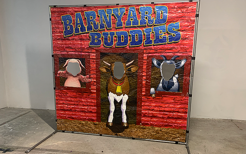 Barnyard Stand In Photo