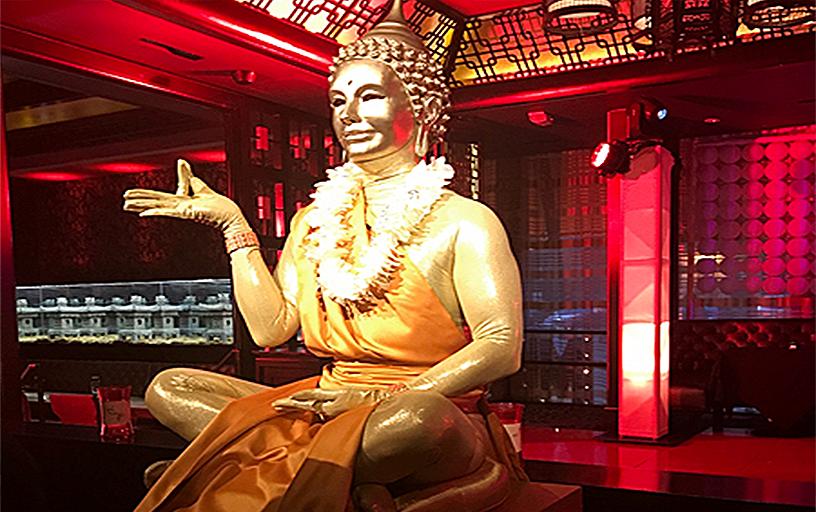 Living Buddah Statue