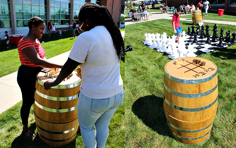Beer Garden Barrel Games (qty 4)