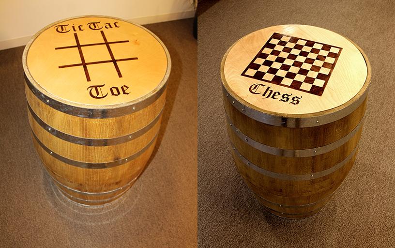 Beer Garden Barrel Games (qty 4)