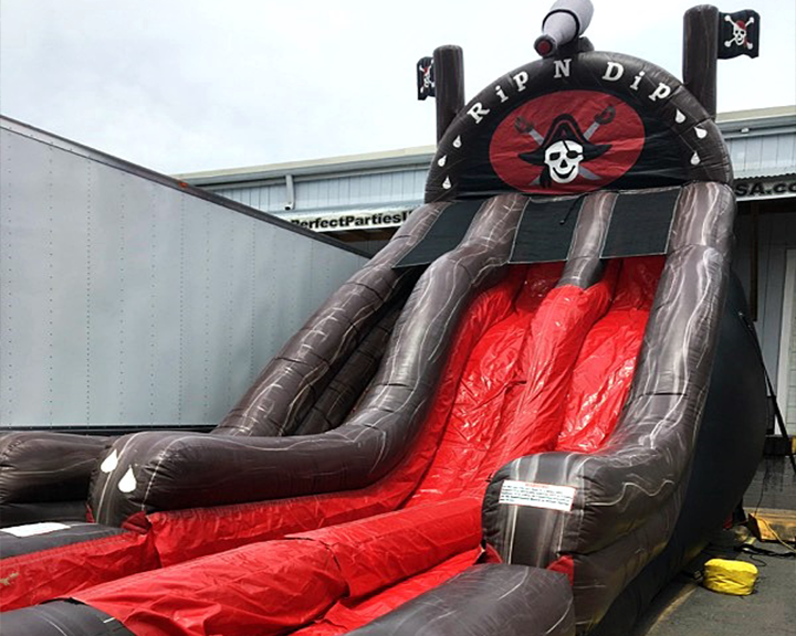 Pirate Ship Rip N' Dip Slide