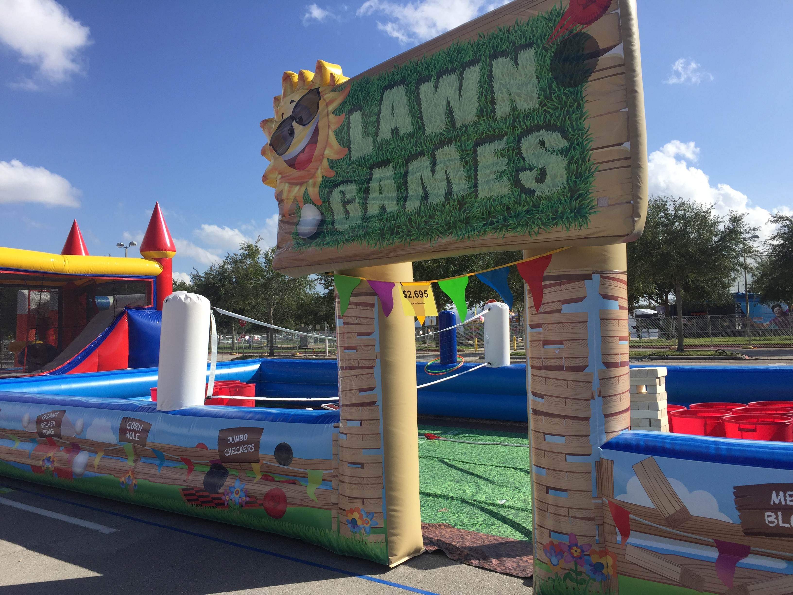 Lawn Games Arena