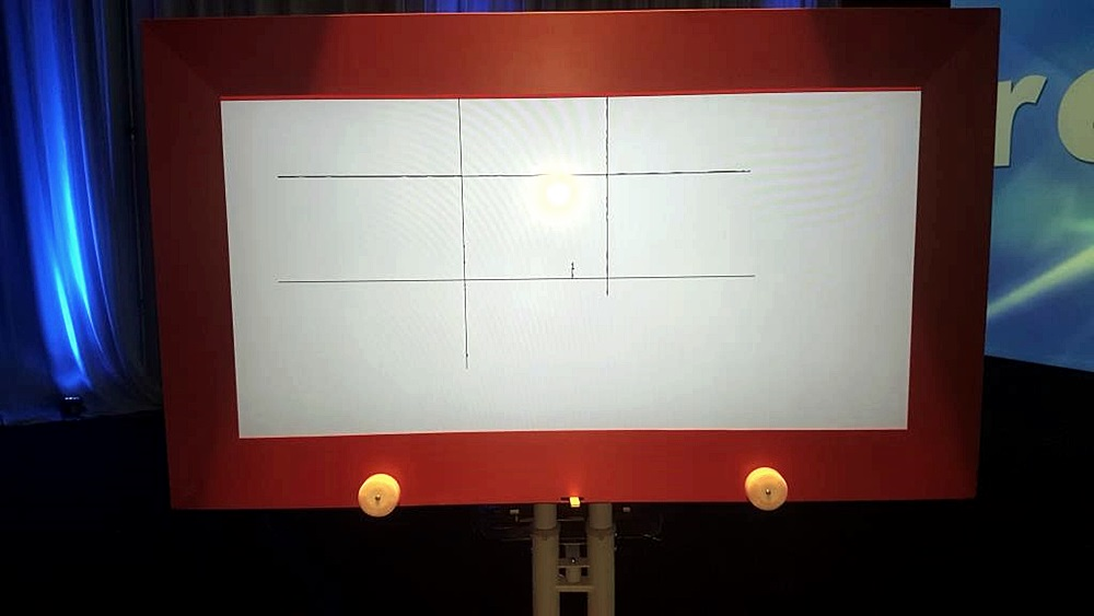 Giant Etch A Sketch