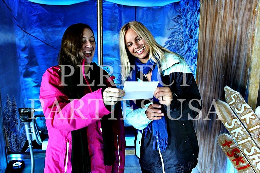 Ski Lift Photo Booth