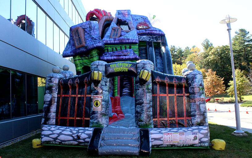 Spooky Mansion Slide