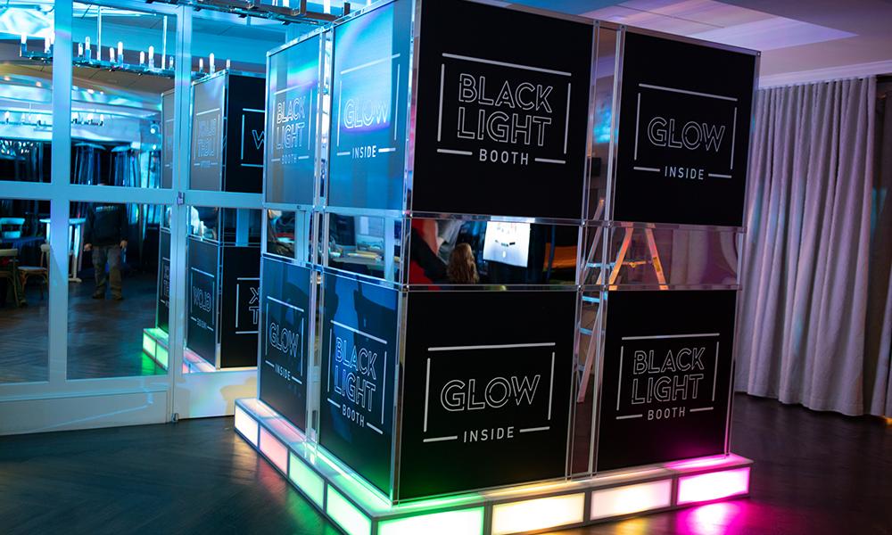 Black Light Photo Booth