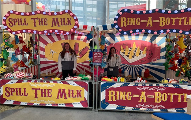 Deluxe Ring-A-Bottle Carnival Booth