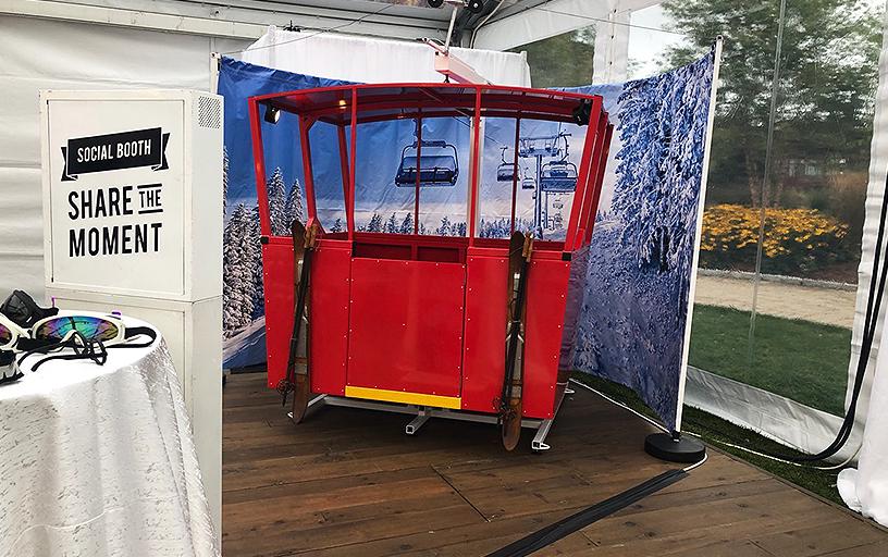 Gondola Photo Booth