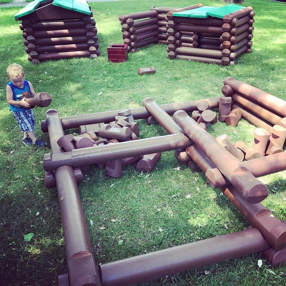 Giant Building Logs