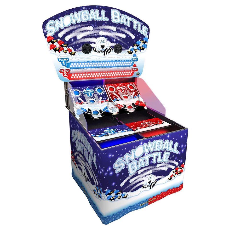 Bounce A Ball - Snowball Battle