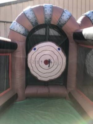 Axe Throwing Inflatable